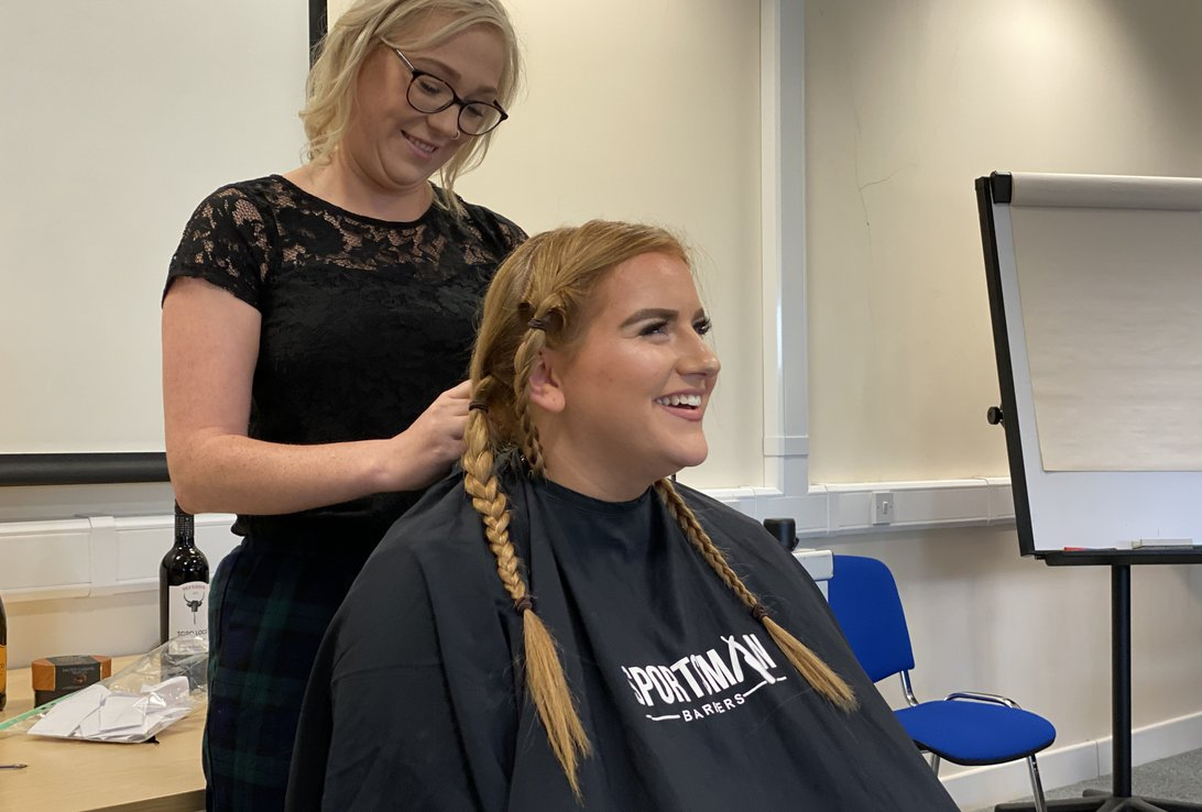 Hart Bio Brave the Shave for Macmillan Coffee Morning  Image