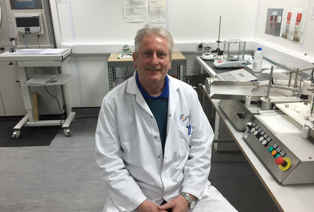 Hart Biologicals stalwart Bob looks forward to a happy retirement Image