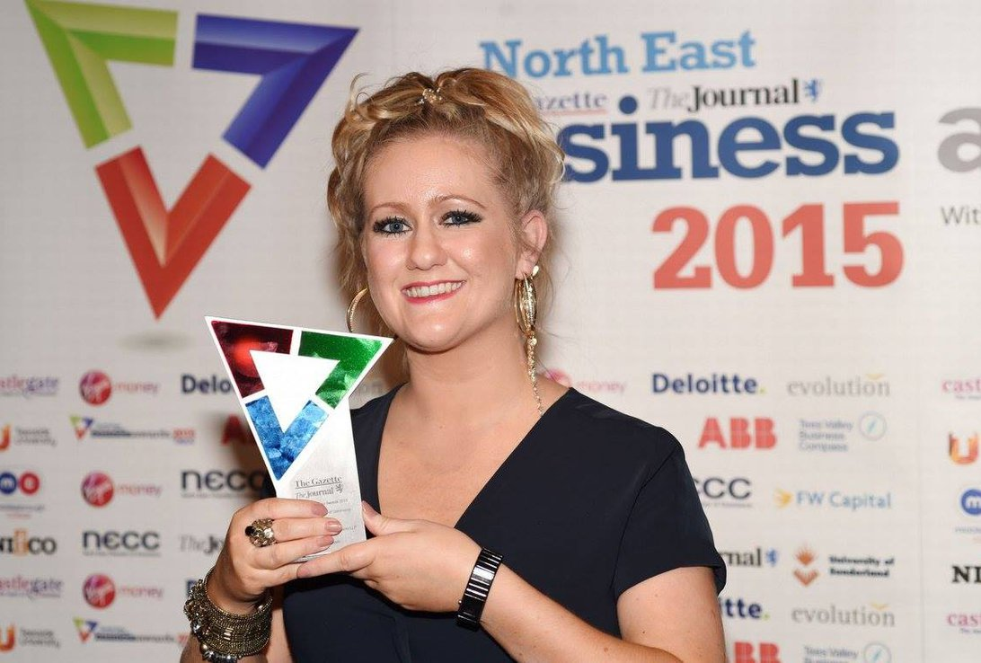 North East Business Awards Triumph Image