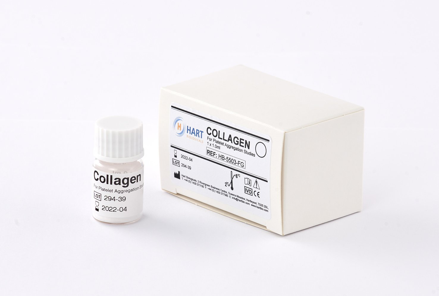 Collagen 100ug/ml - 2 x 1.0ml
