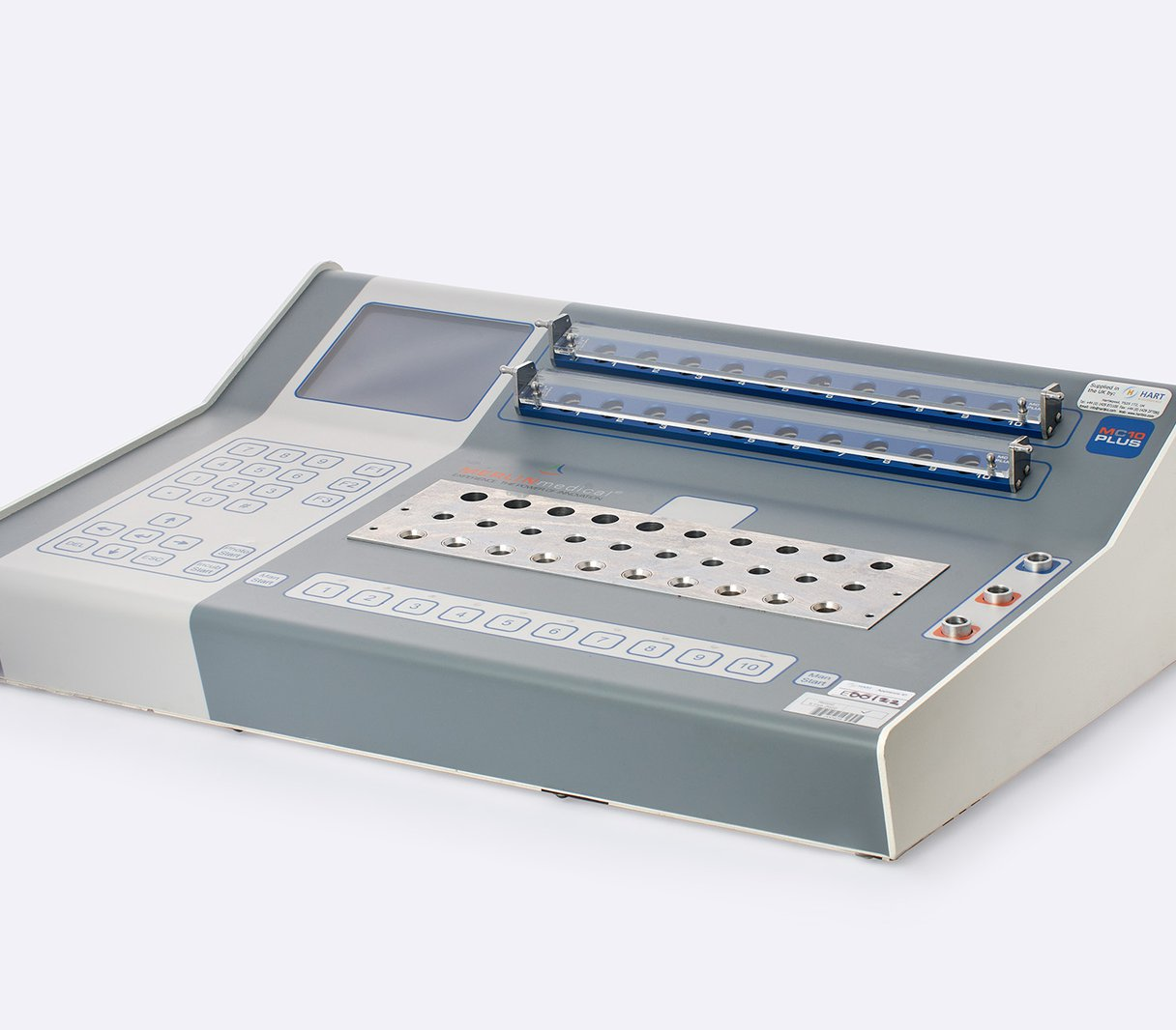 Thrombi-Stat MC10 Macro 10 Channel Coagulometer (with photometer)