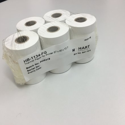 Thermal paper for Printer (Pack of 5)
